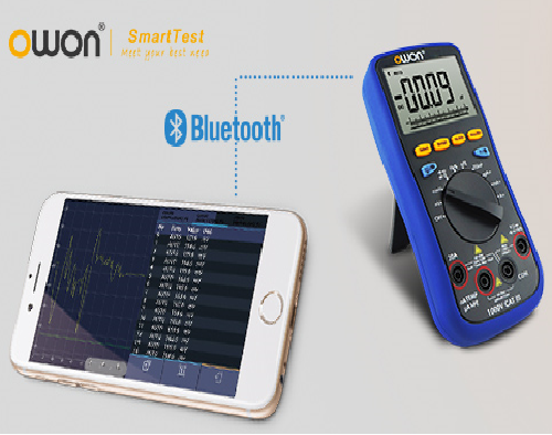 Laser Entfernungsmesser Datenlogger : Owon b35 multimeter bluetooth datenlogger ios android