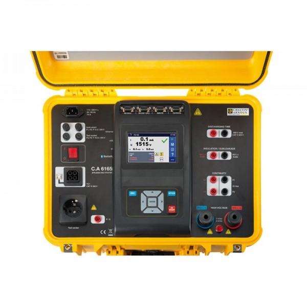 Miete Chauvin Arnoux C.A 6165 Maschinentester Prüfung 25A, 32GB Speicher