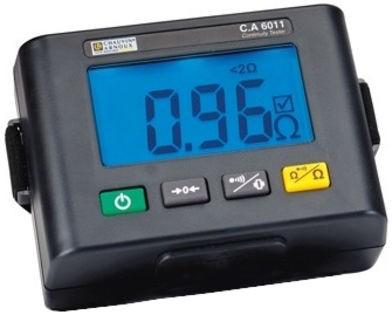 Chauvin Arnoux C.A 6011 Isolationsmessgerät 200Ω Durchgangs- und Widerstandsprüfgerät