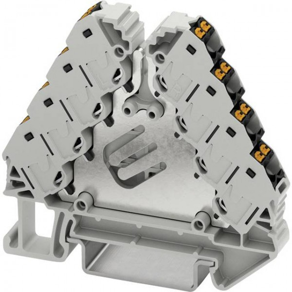 10 Stück Phoenix Contact PTRVB 4-PV 3270157 Potenzialverteiler Polzahl: 16