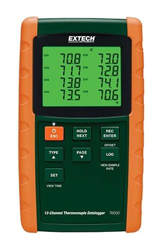 Extech TM500 12 Kanal Thermometer mit Datenlogger