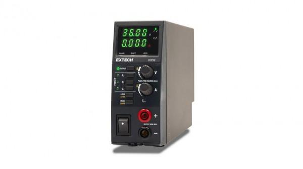 Extech DCP36 Labornetzgerät, leichtes Schaltnetzteil, einstellbar 0.5 - 36V 0 - 5A 80W