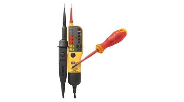 Fluke T110VDE + Schraubendreher Spannungs- und Durchgangsprüfer T110/SD