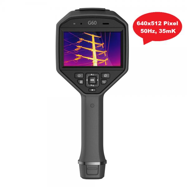 HikMicro G60 Wärmebildkamera 640x512 Pixel, 50Hz, 35 mK (NETD), -20°C - 650°C