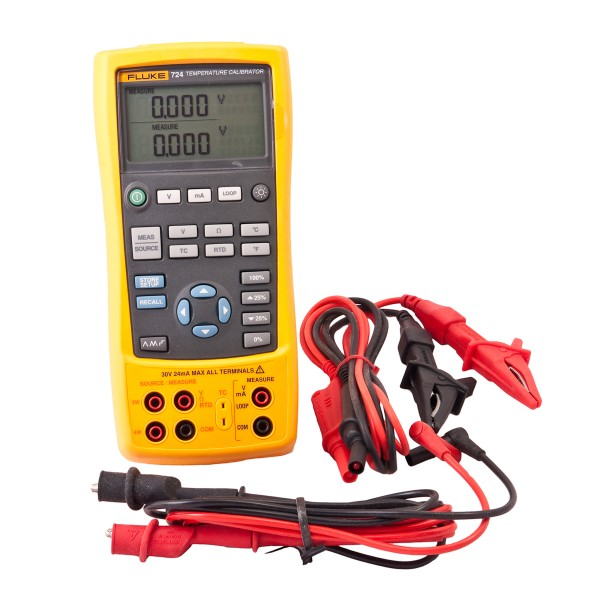 Fluke 724 Temperaturkalibrator Kalibrator messen geben