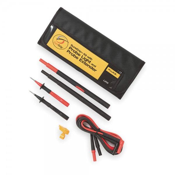 Fluke L215 SureGrip™ Kit mit Tastkopflampe und Tastkopfverlängerungen