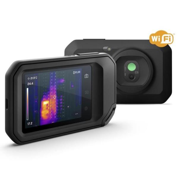 FLIR C5 Touchscreen Wärmebildkamera 160x120 Pixel + WiFi + MSX -20 bis +400°C