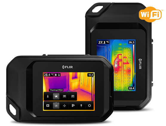 Flir C3 Wärmebildkamera Wi-Fi 80x60 + MSX -10 °C bis 150 °C