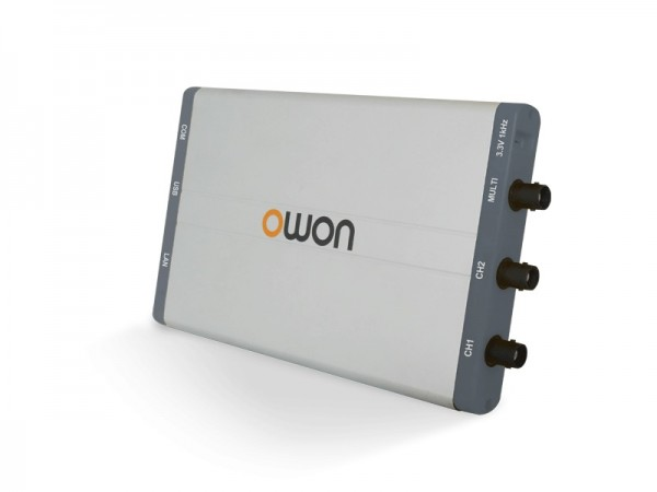 OWON VDS3102L USB+LAN Oszilloskop 2x 100 MHz 1GS/s