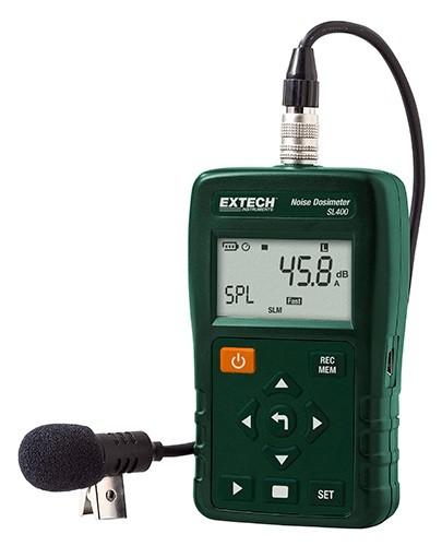 Extech SL400 Lärmdosimeter Datenlogger USB nach IEC + ANSI
