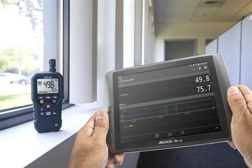 FLIR MR77 Nicht invasives Feuchtemessgerät Logger Bluetooth gebraucht