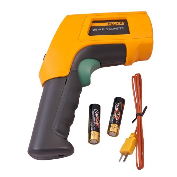 Fluke 566 Infrarot- und Kontaktthermometer -40 °C bis 650 °C