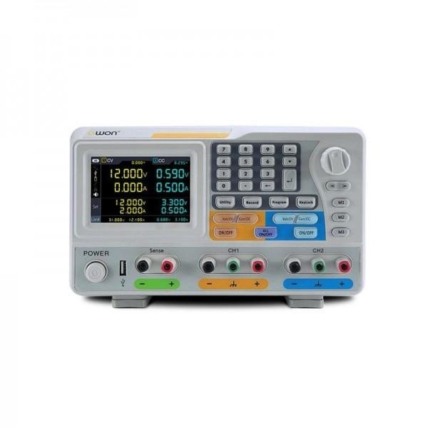 OWON ODP3122 2Kanal 378W programmierbares Labornetzteil 0-30V 12A, 0-6V 3A