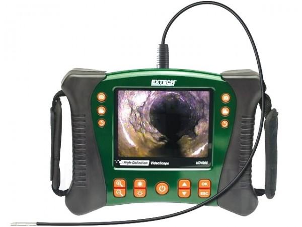 Extech HDV610 Reihe Endoskop 640x480 hochauflösende Videoscope 5,5mm Kamera 1m