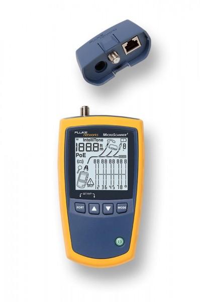 Fluke MicroScanner2 MS2-100 Kabel Verifizierung Kabeltester