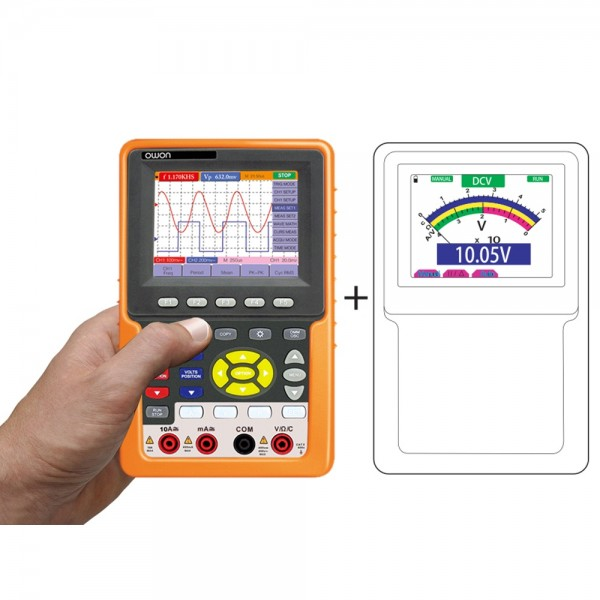 OWON HDS2062M-N HDS2062 60MHZ Handheld Oszilloskope + Multimeter