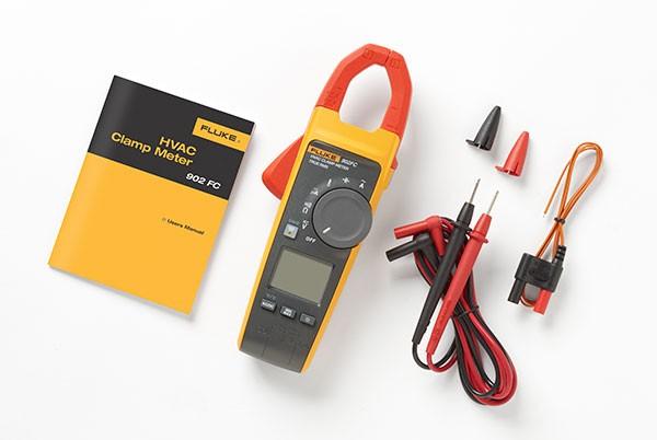 Fluke 902 FC HVAC Stromzange Echteffektiv-Strommesszange