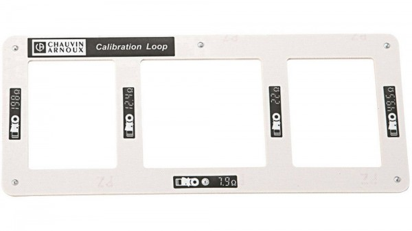 Chauvin Arnoux Kalibrierschleife CL1 Kalibrator Widerstand P01122301