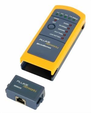 Fluke Micromapper LAN Wiremap Tester Netzwerktester MT-8200-49A