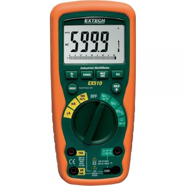 Extech EX505 EX-505 Industrie Hochleistungs MultiMeter Wasserdicht...