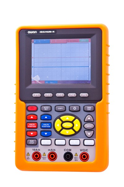 OWON HDS3102M-N 100MHZ 2 Kanal 1GS/s Handheld Oszilloskope + Multimeter