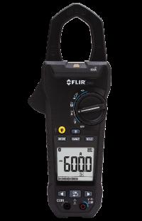 FLIR CM83 600A AC DC Stromzange TRMS Datenlogger Bluetooth Demo Gerät
