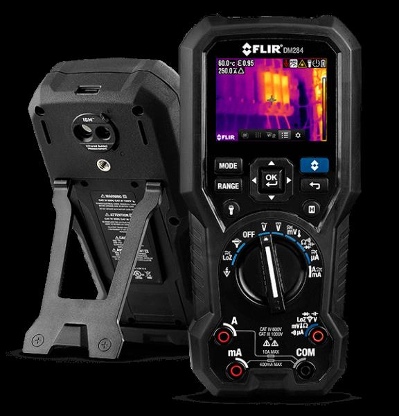 FLIR DM284 Wärmebild Multimeter mit IGM 18 Funktionen