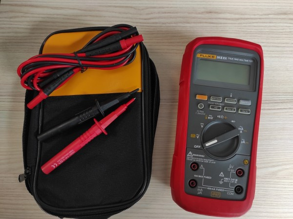 Fluke 28 II Ex + Tasche EX Echt Effektivwert Digitalmultimeter 28IIex
