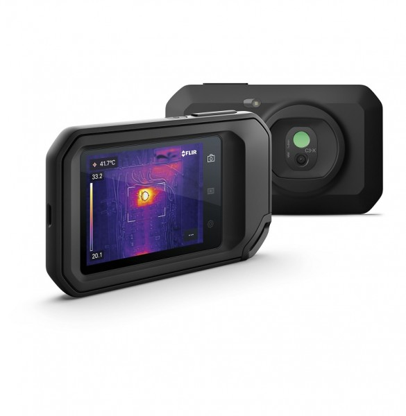Flir C3-X Wi-Fi Wärmebildkamera 128x96 Pixel + MSX -20 °C bis 300 °C