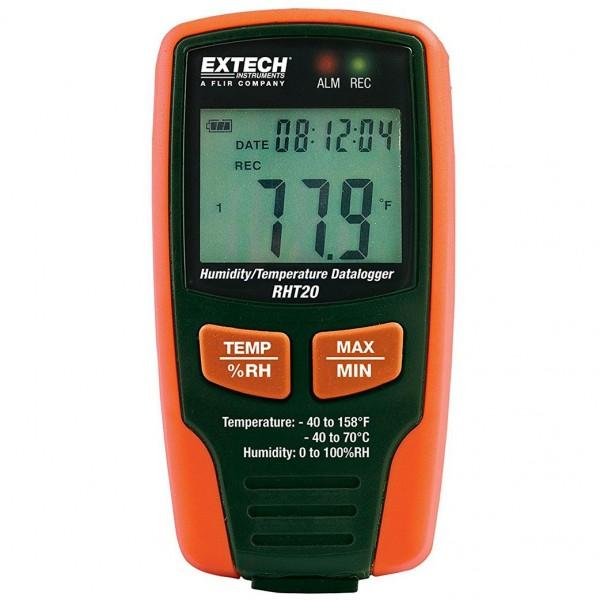 Extech RHT20 Feuchtigkeit Temperatur Datenlogger W/Lcd