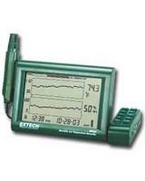 Extech RH520A Luftfeuchte- + Temperatur Kurvenschreiber Hygrometer...