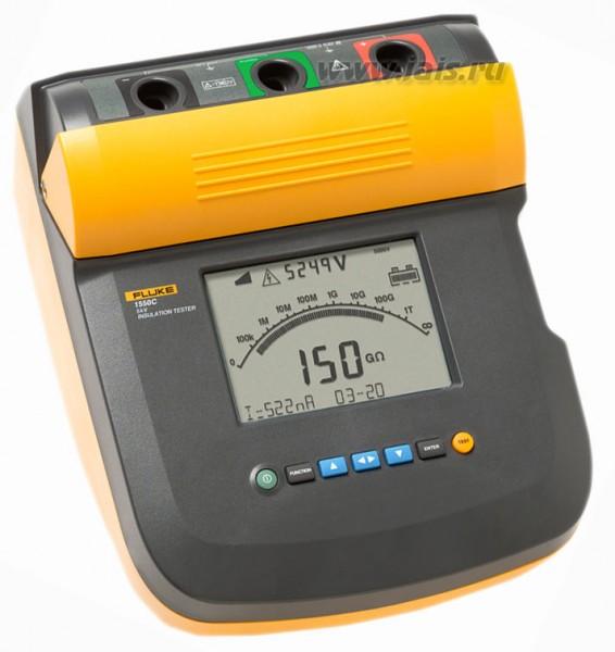 FLUKE 1550C 5 KV Isolationsmessgerät DEMO Gerät