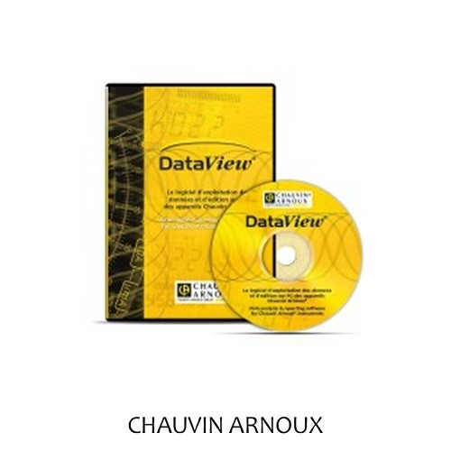 Chauvin Arnoux DataView PC Software Passend P01102095