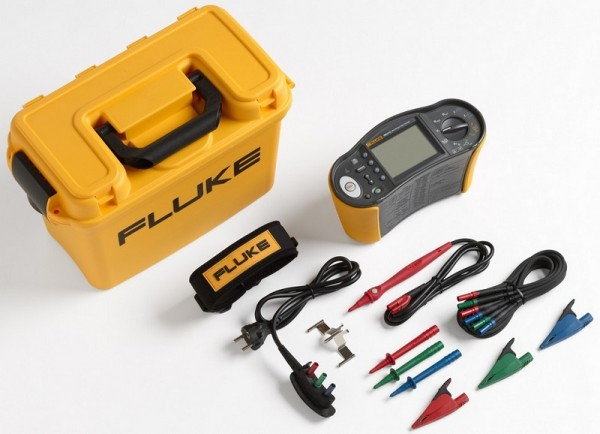 Fluke 1664 FC DE + DMS Software Installationstester 4547093 VDE0100