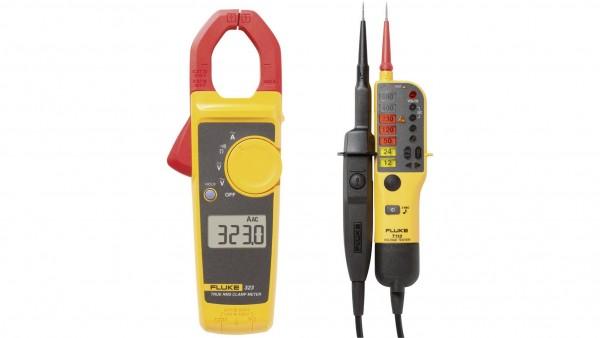 Fluke 323/T110VDE Stromzange digital + Spannungsprüfer