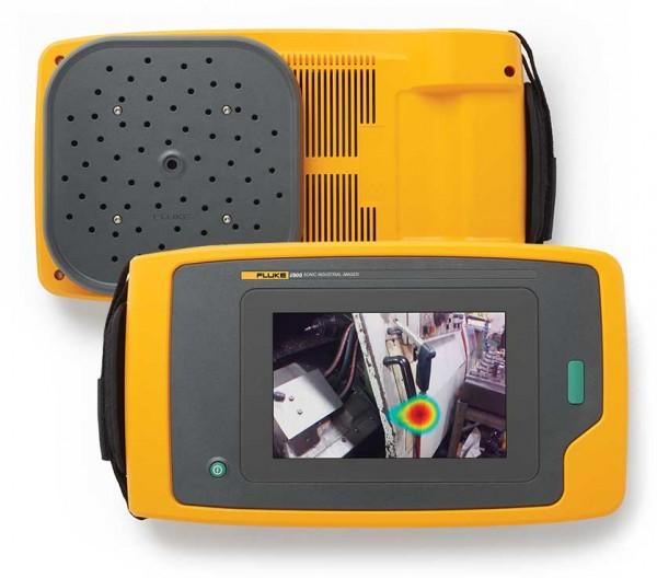 Fluke ii910 Industrie Schallkamera 64 Mikrofone, 2kHz-100kHz, 1280x800, bis 120m
