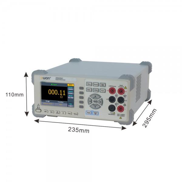 OWON XDM2041 Tisch Multimeter TRMS 4 1/2 Digits mit großem LCD Display und Speicher