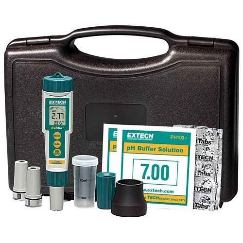 Extech Ex900 Exstik 4-in-1 Chlor, Ph, Redox Temperatur Kit