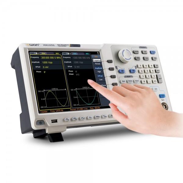 OWON XDG 2 Kanal Funktionsgenerator arbiträr 80MHz, 100MHz, 160MHz oder 200MHz