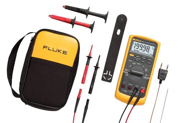 Fluke 87V/E2 Industrielektriker Hand Multimeter Combo Kit
