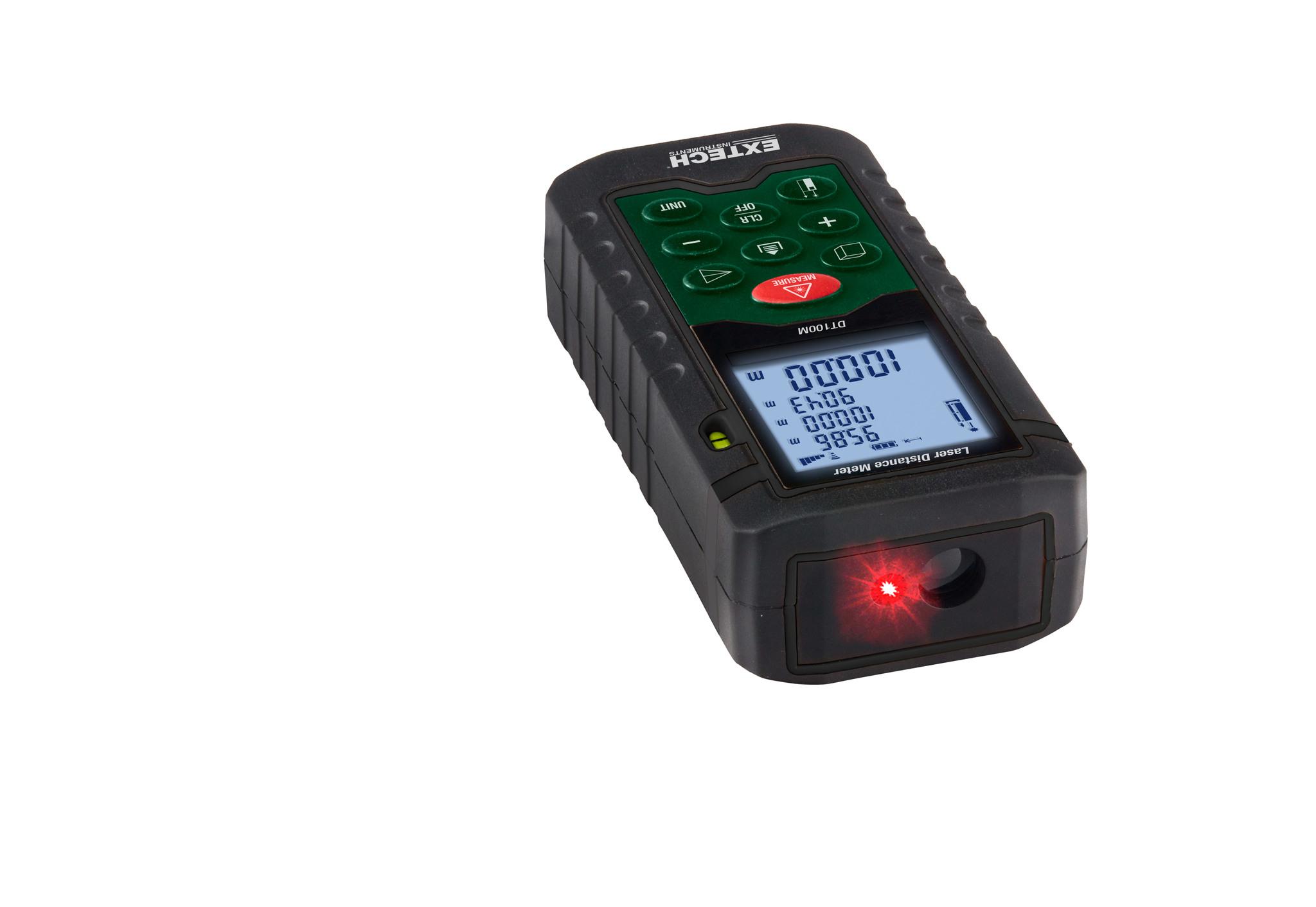 Laser Entfernungsmesser Datenlogger : Extech dt m laser entfernungsmesser messgerät