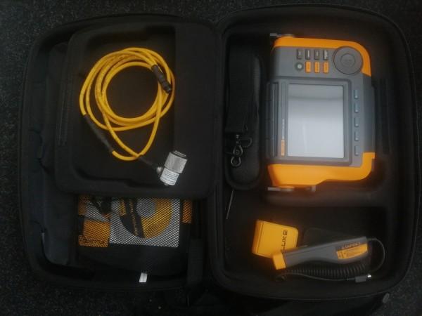 Fluke 810 Schwingungsmessgerät mit Drehzahl für Motoren Pumpen