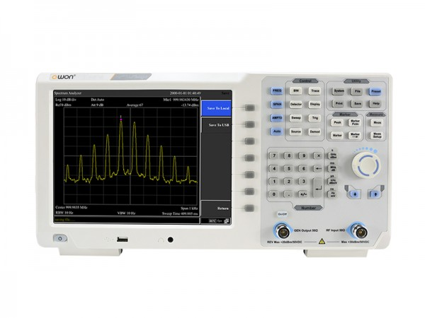 OWON XSA1015-TG Spektrum Analyser 9 kHz - 1.5 GHz mit Tracking Generator