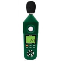 Extech En300 5 in 1 Umweltmessgerät Anemometer Hygrometer Lichtmes...