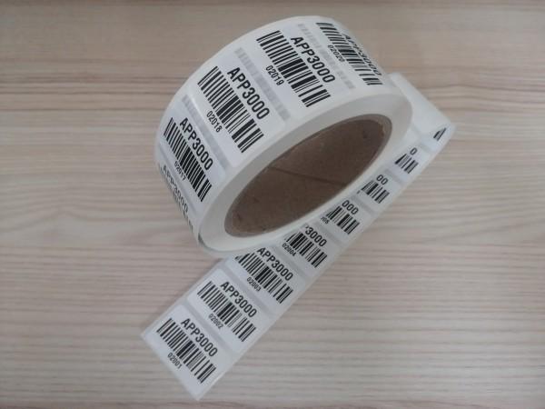1000 Stück APP3000 Barcode Etiketten 2001-3000 für Fluke Gossen Beha Benning