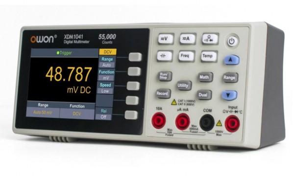OWON XDM1041 Tisch Multimeter TRMS mit LCD Display und Speicher