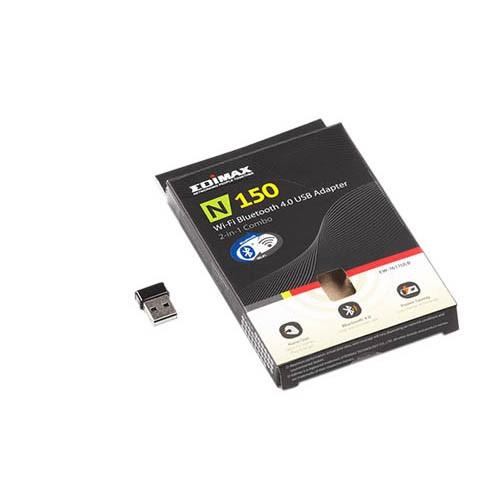 Fluke Netscout EU-WIFI-BT-USB Edimax n150 Wi-Fi & Bluetooth USB Adapter für Europa