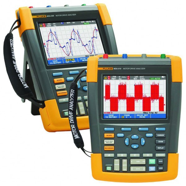 FLUKE MDA-550 Motorantrieb-Analysator, 4 Kanäle, 500 MHz PRO