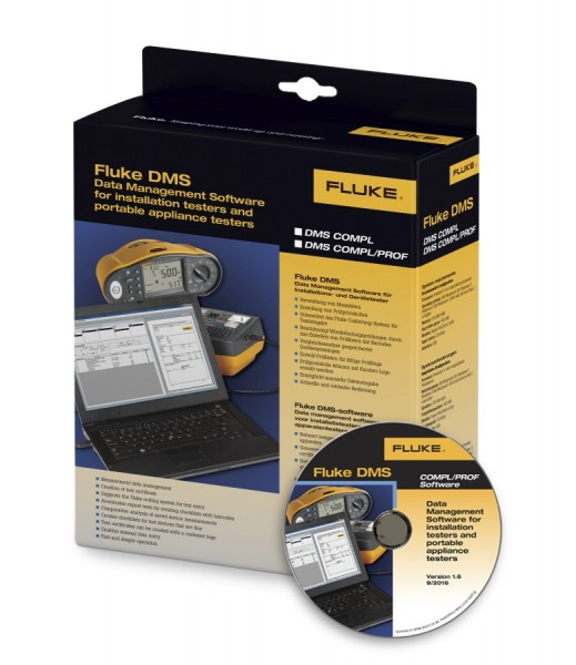 Fluke DMS 1.7 COMPL/PROF Software PC neueste Version 4743881