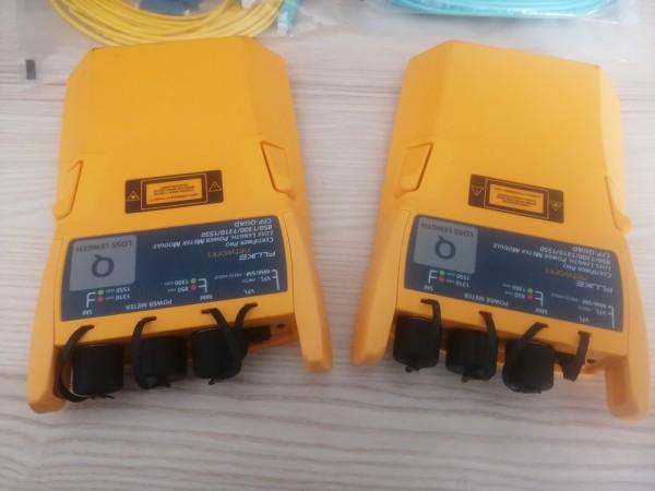 Fluke CFP-Q-ADD Certifiber PRO KIT QUAD MM und SM LWL Fiber Dämpfungsmessung DEMO
